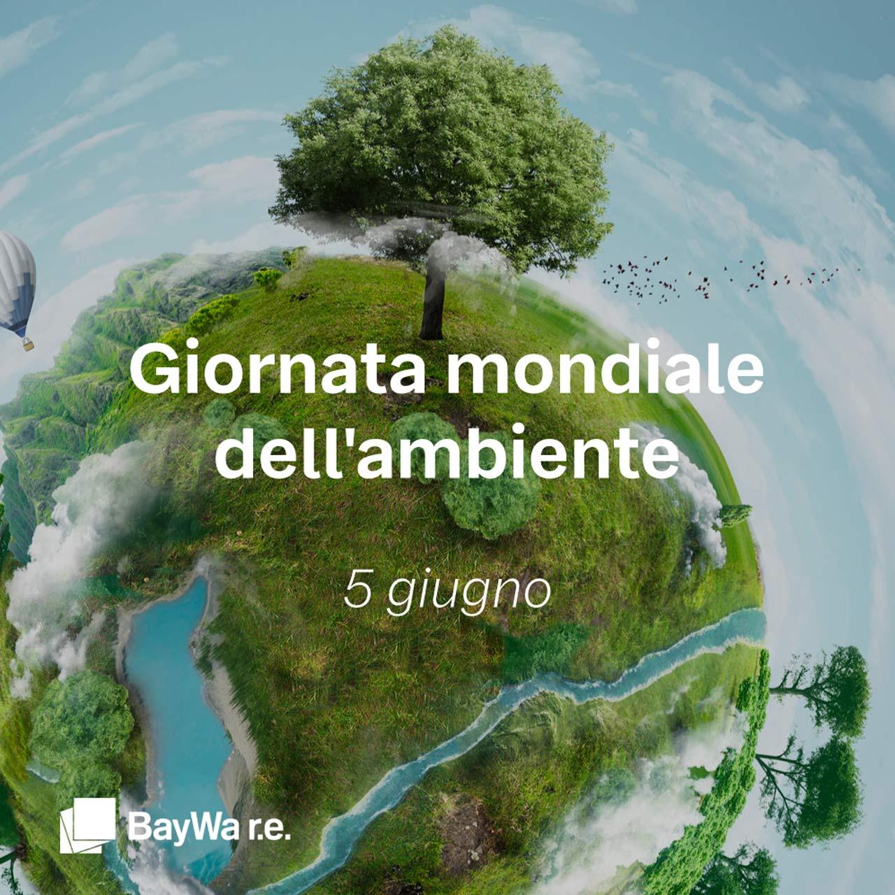 BayWa RE per la giornata mondiale dell'ambiente