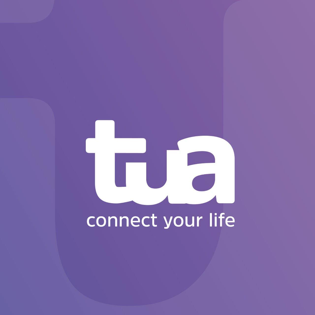 Logo TUA bianco